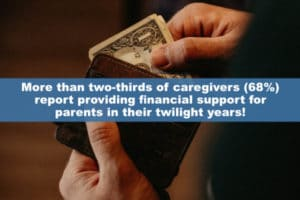 Caregiving For Parents Can Put a Huge Dent in Your Budget