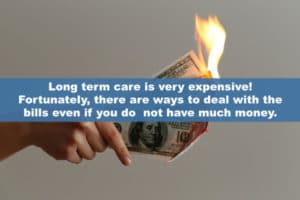 Long term care is very expensive!