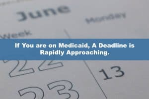 Did you receive a $600 stimulus check a year ago? If You are on Medicaid, A Deadline is Rapidly Approaching.